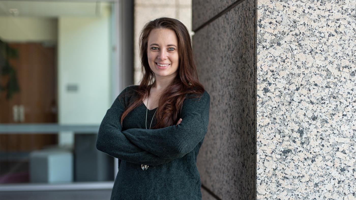 Bonnie Cole, graduate student at Gladstone Institutes