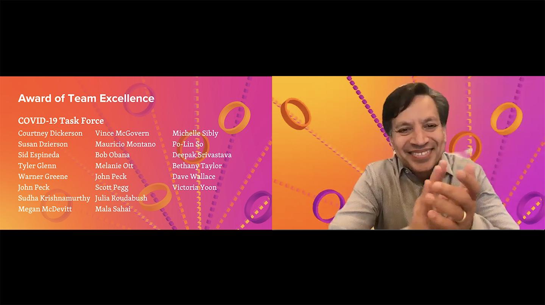 Deepak Srivastava hosts Gladstone Celebrates