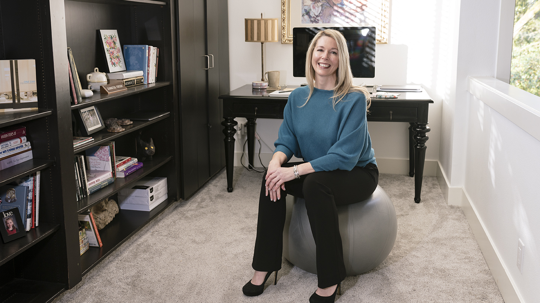 Jennifer Crosby, vice president of HR at Gladstone Institutes