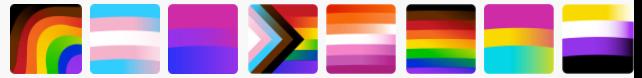 pride emojis